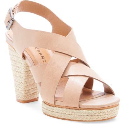 Lucky Brand Cabino Sandal- Beige