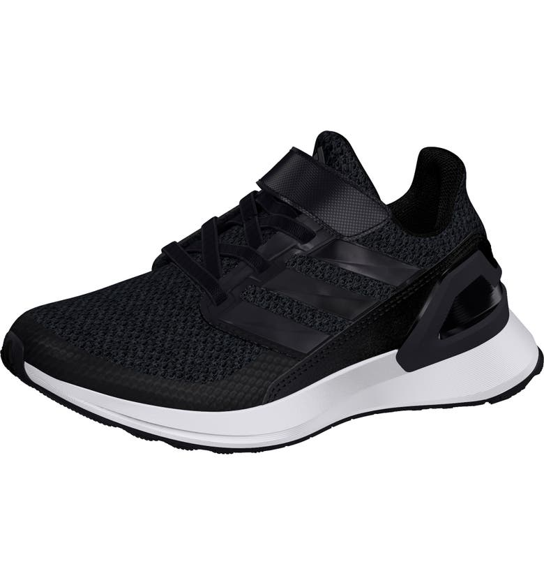 ADIDAS RapidaRun Knit Sneaker, Main, color, CORE BLACK/ WHITE/ WHITE