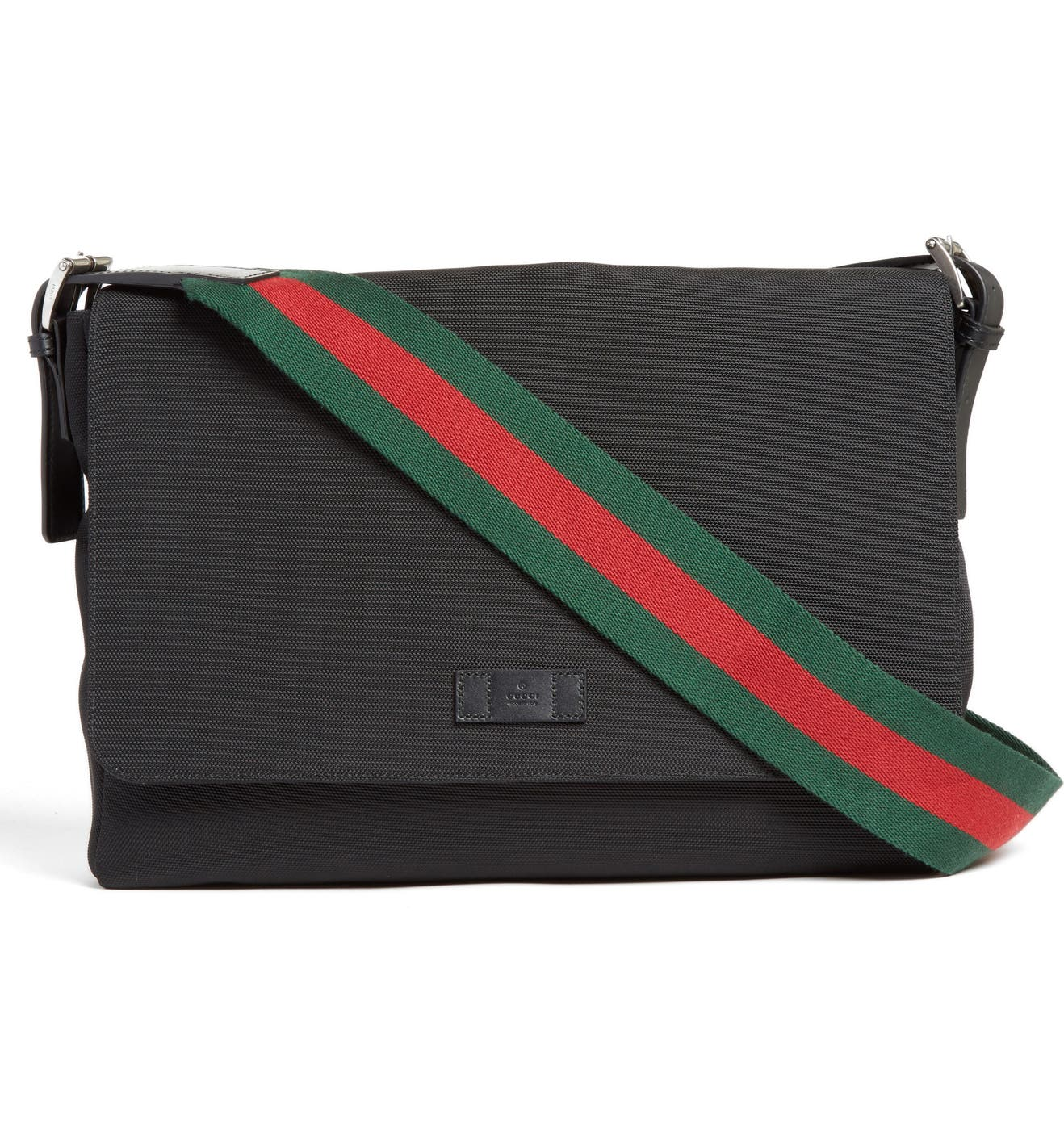 6d24bfda0f20 Gucci Techno Canvas Messenger Bag | Nordstrom
