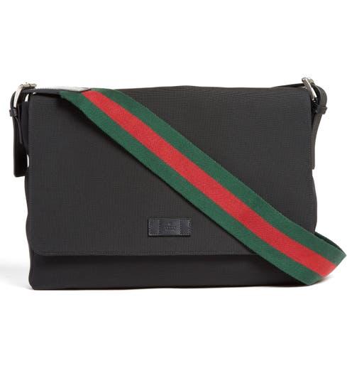 c4933a11be501a Gucci Techno Canvas Messenger Bag   Nordstrom