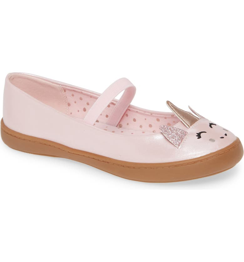 TUCKER + TATE Unicorn Mary Jane, Main, color, PINK FAUX LEATHER