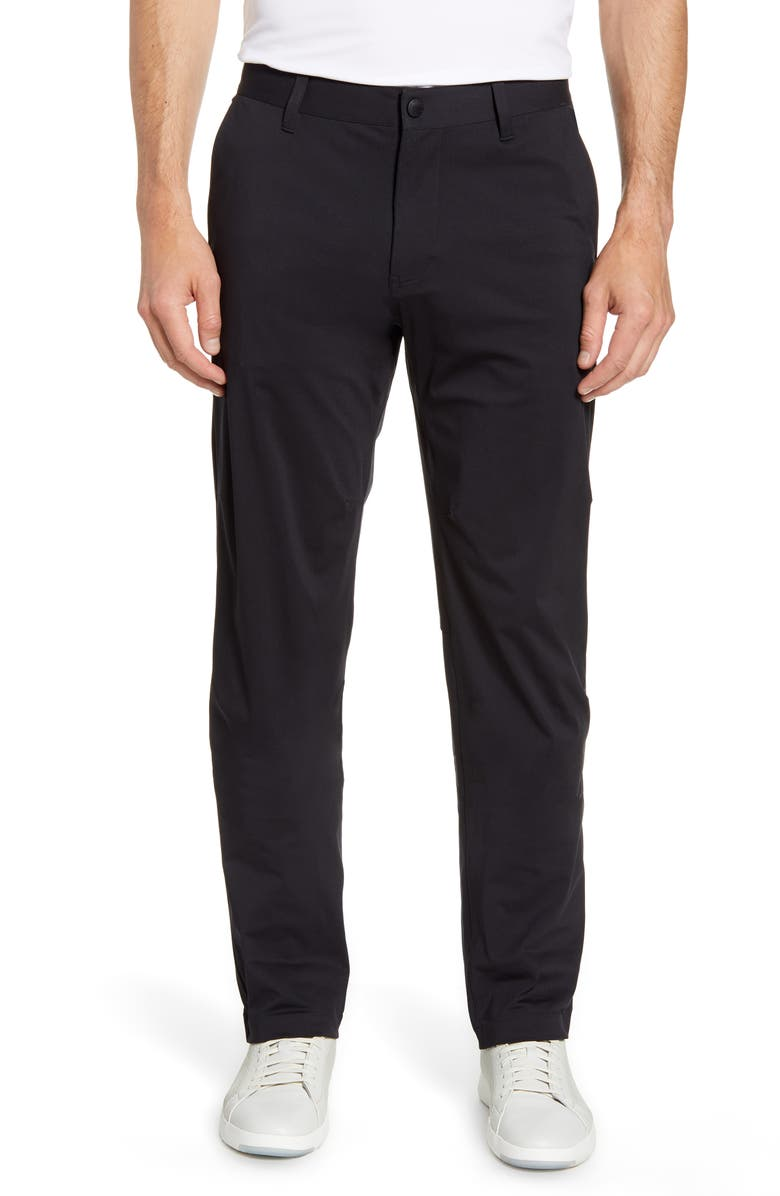 RHONE Commuter Pants, Main, color, BLACK