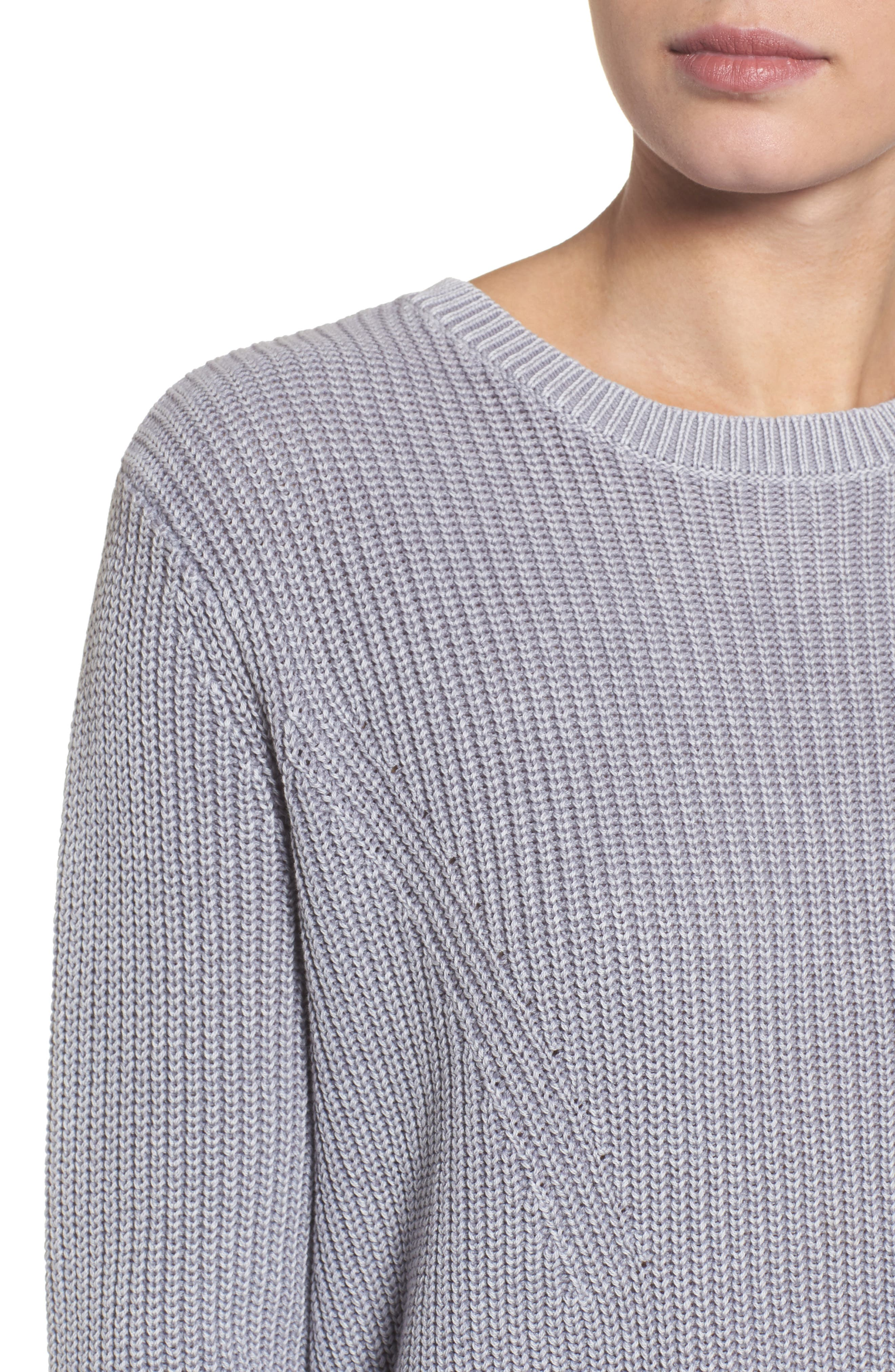 ,                             Tie Back Tunic Sweater,                             Alternate thumbnail 52, color,                             420