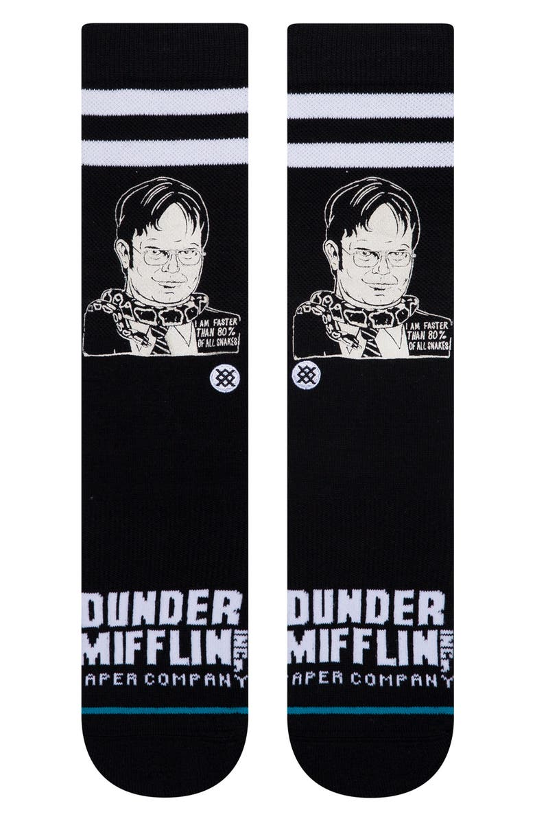STANCE Dwight Socks, Main, color, 001