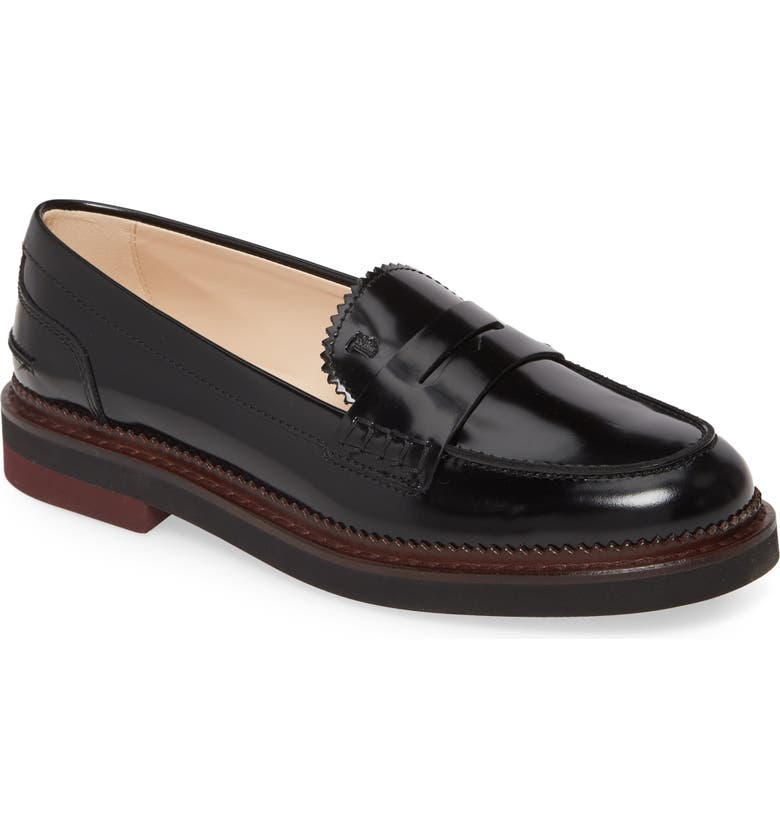 Tods New Light Penny Loafer Women