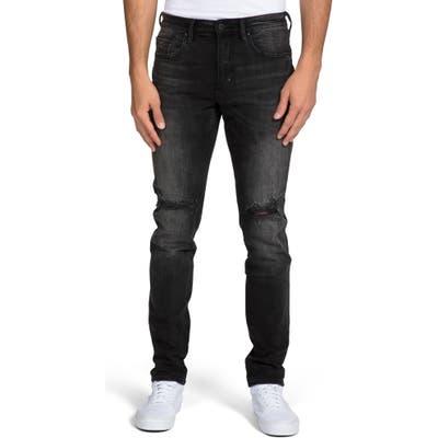 Prps Le Sabre Ripped Slim Fit Jeans Black