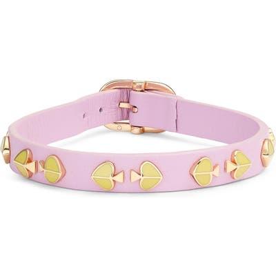 Kate Spade New York Spade Stud Leather Bracelet