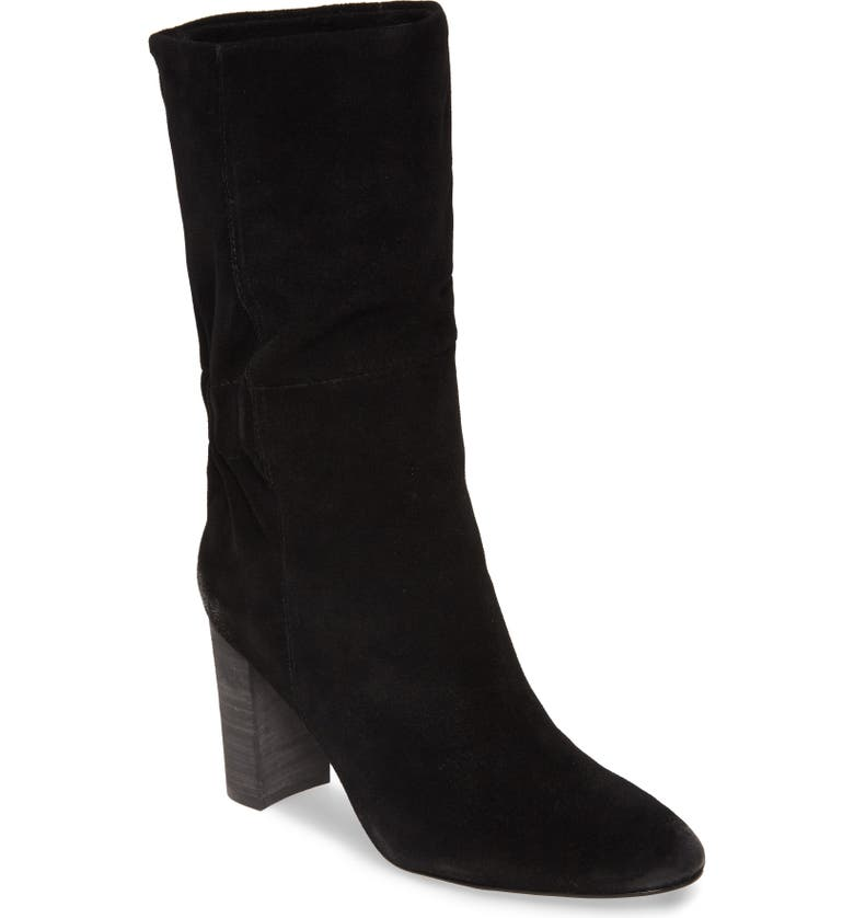 CHARLES BY CHARLES DAVID Barrie Boot, Main, color, BLACK SUEDE