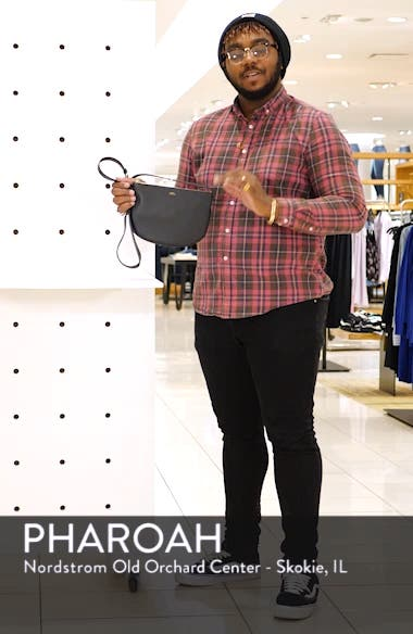 Sac Maelys Leather Crossbody Bag, sales video thumbnail