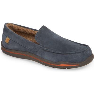 Acorn Ellsworth Moc Toe Slipper, Grey