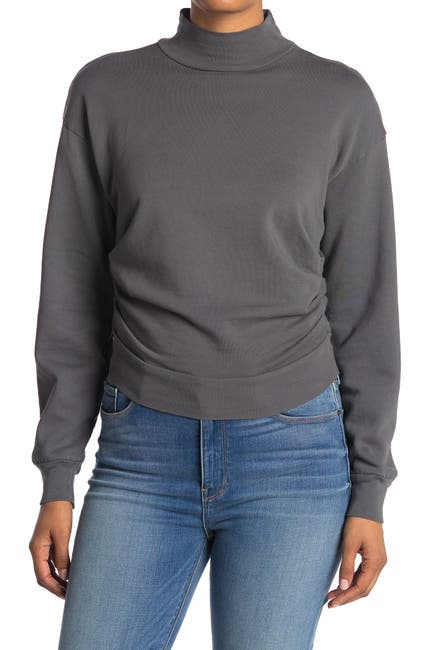 Image of Stateside French Terry Ruched Sweatshirt