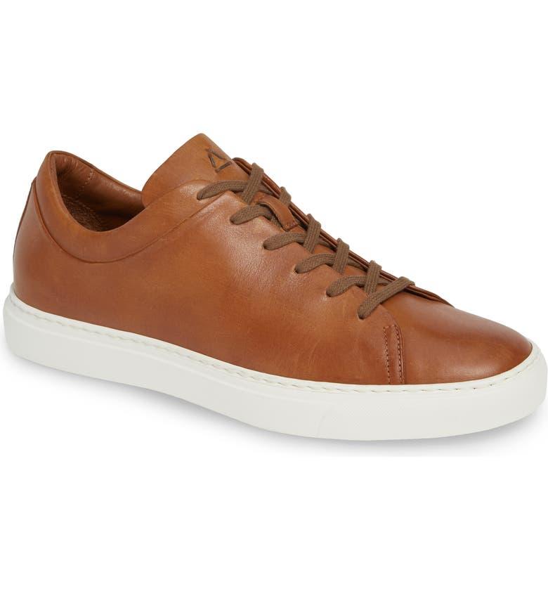 AQUATALIA Alaric Sneaker, Main, color, COGNAC