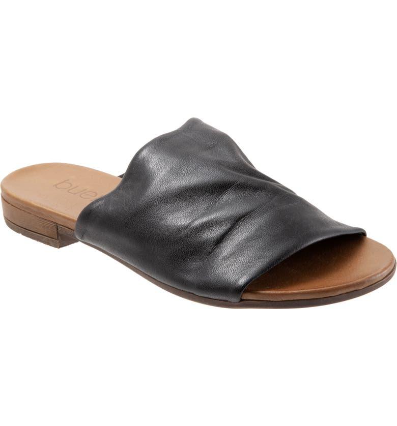 BUENO Turner Slide Sandal, Main, color, BLACK