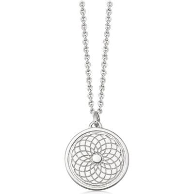 Astley Clarke Radial Biography Pendant Necklace