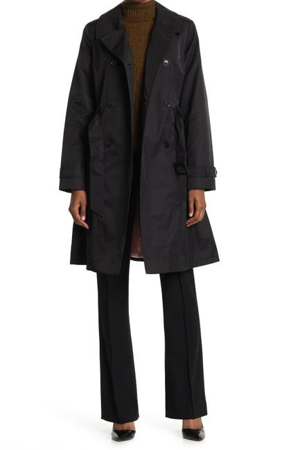 Image of kate spade new york Belted Trench Coat