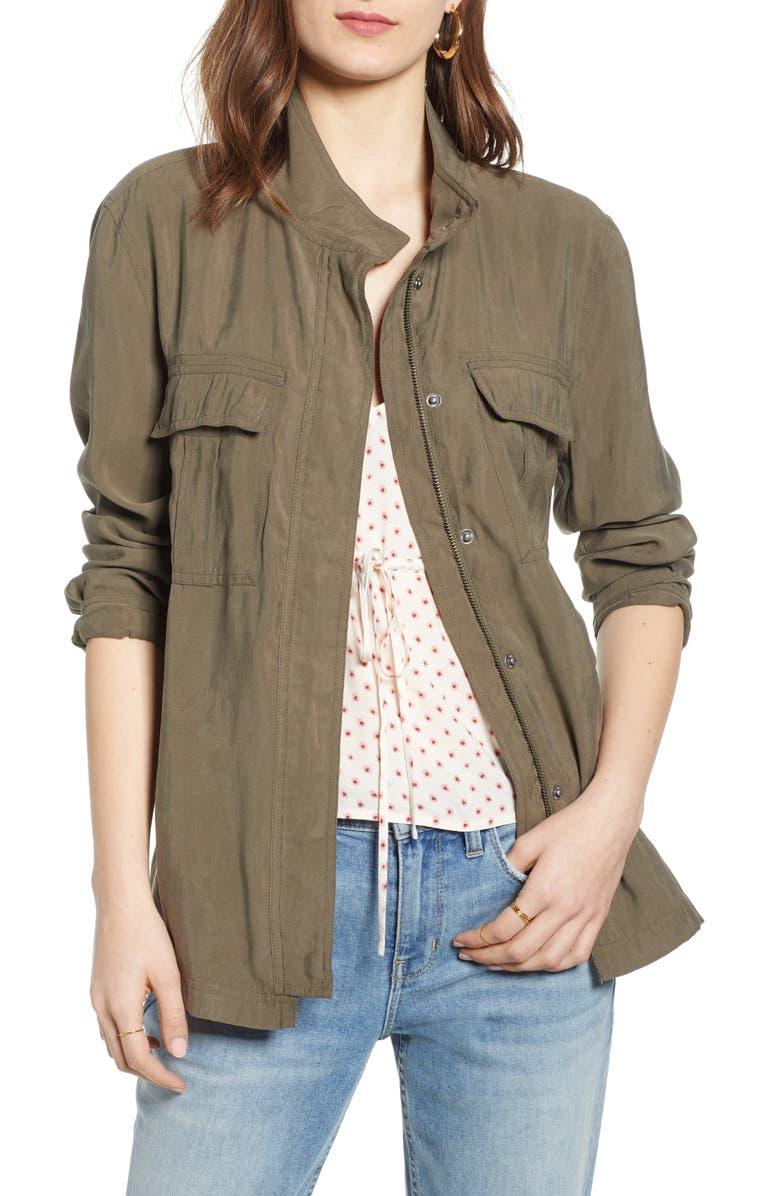 TREASURE & BOND Utility Jacket, Main, color, 301