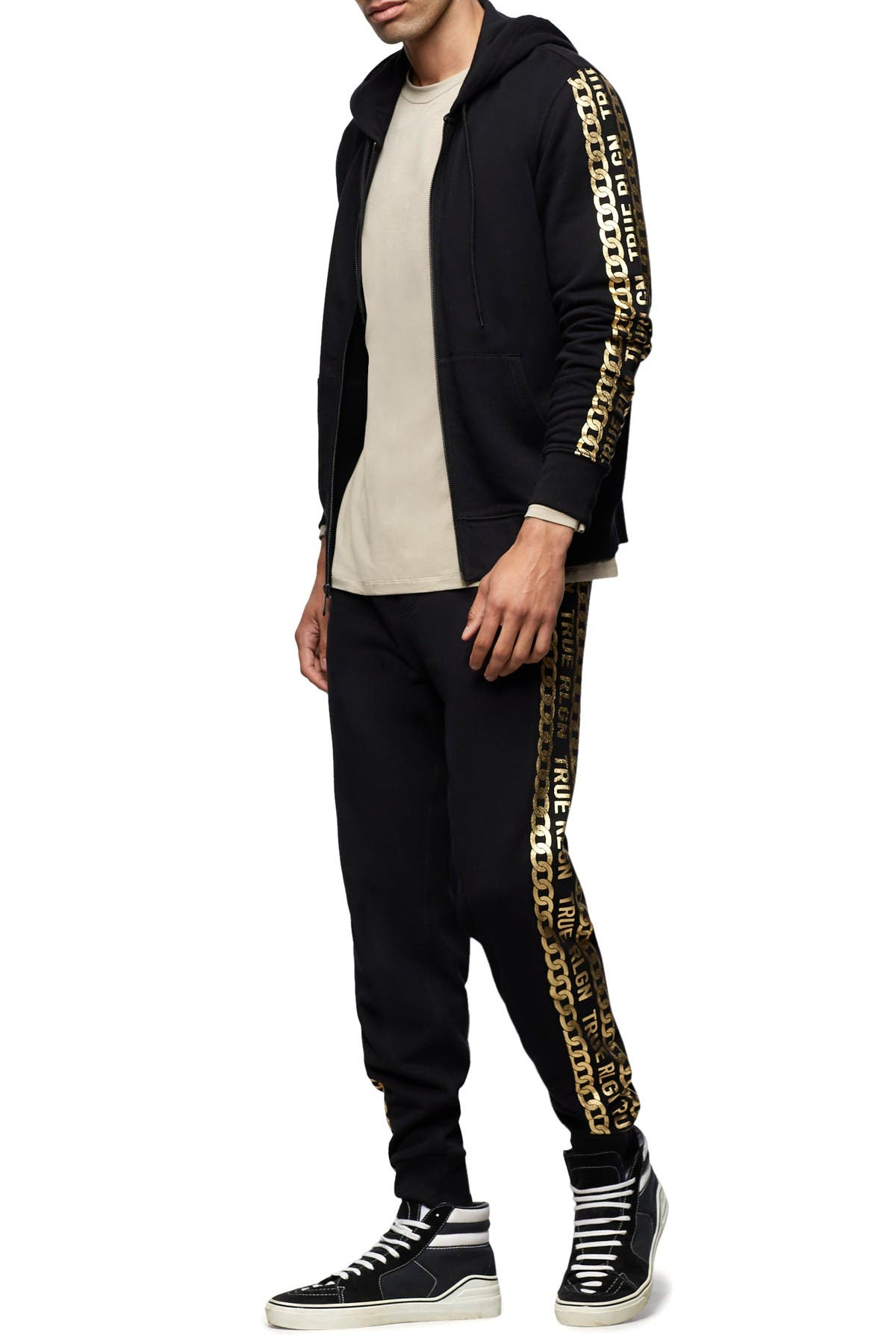 Image of True Religion Side Graphic Joggers