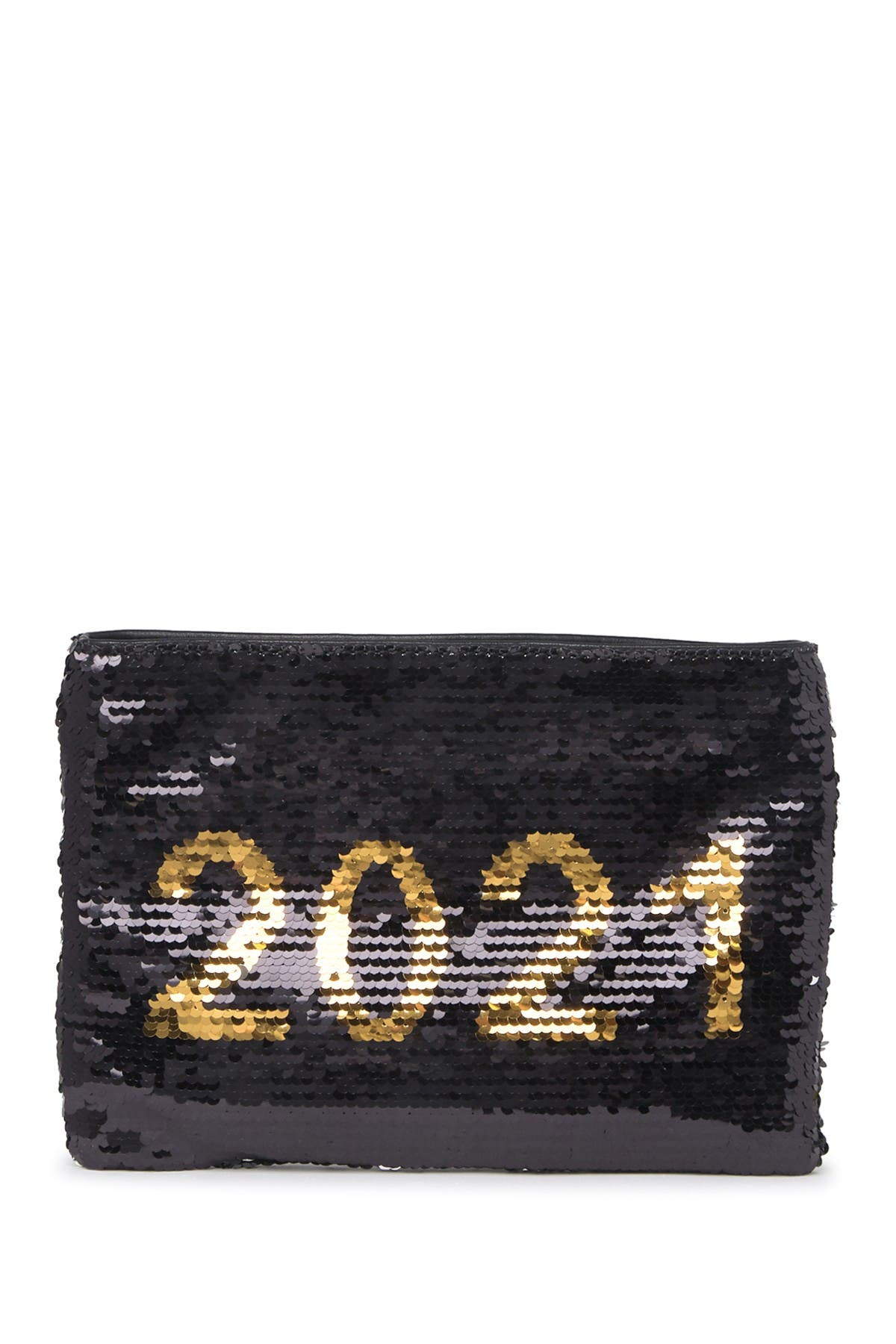 Image of Urban Expressions Reversible Sequin Rose All Day Clutch