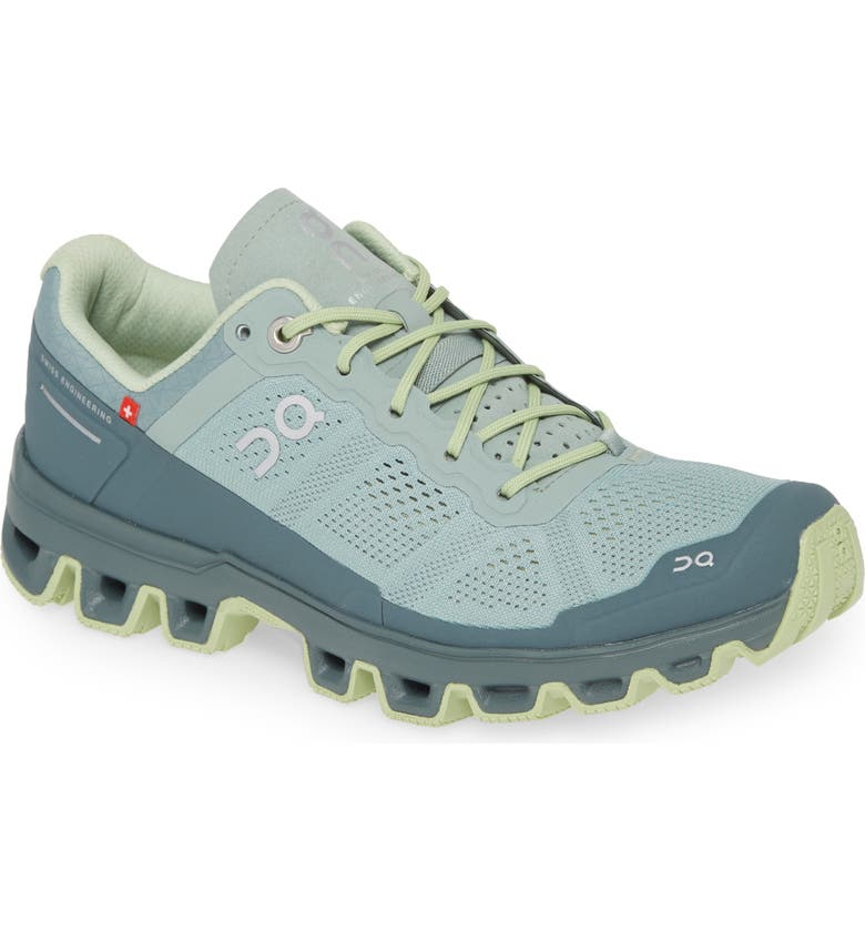 ON Cloudventure Water Repellent Trail Running Shoe, Main, color, 325