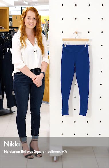 Rosie Ruched Ankle Leggings, sales video thumbnail