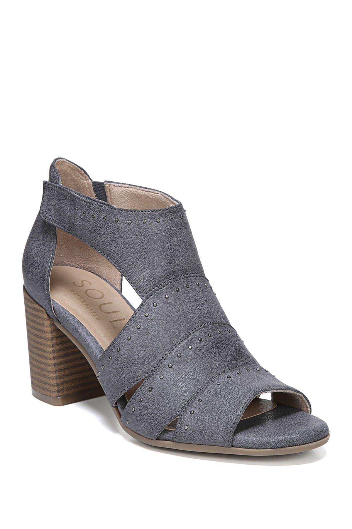 Christina Embellished Block Heel Sandal