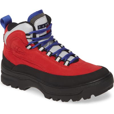 Tommy Jeans Trekking Boot, Red