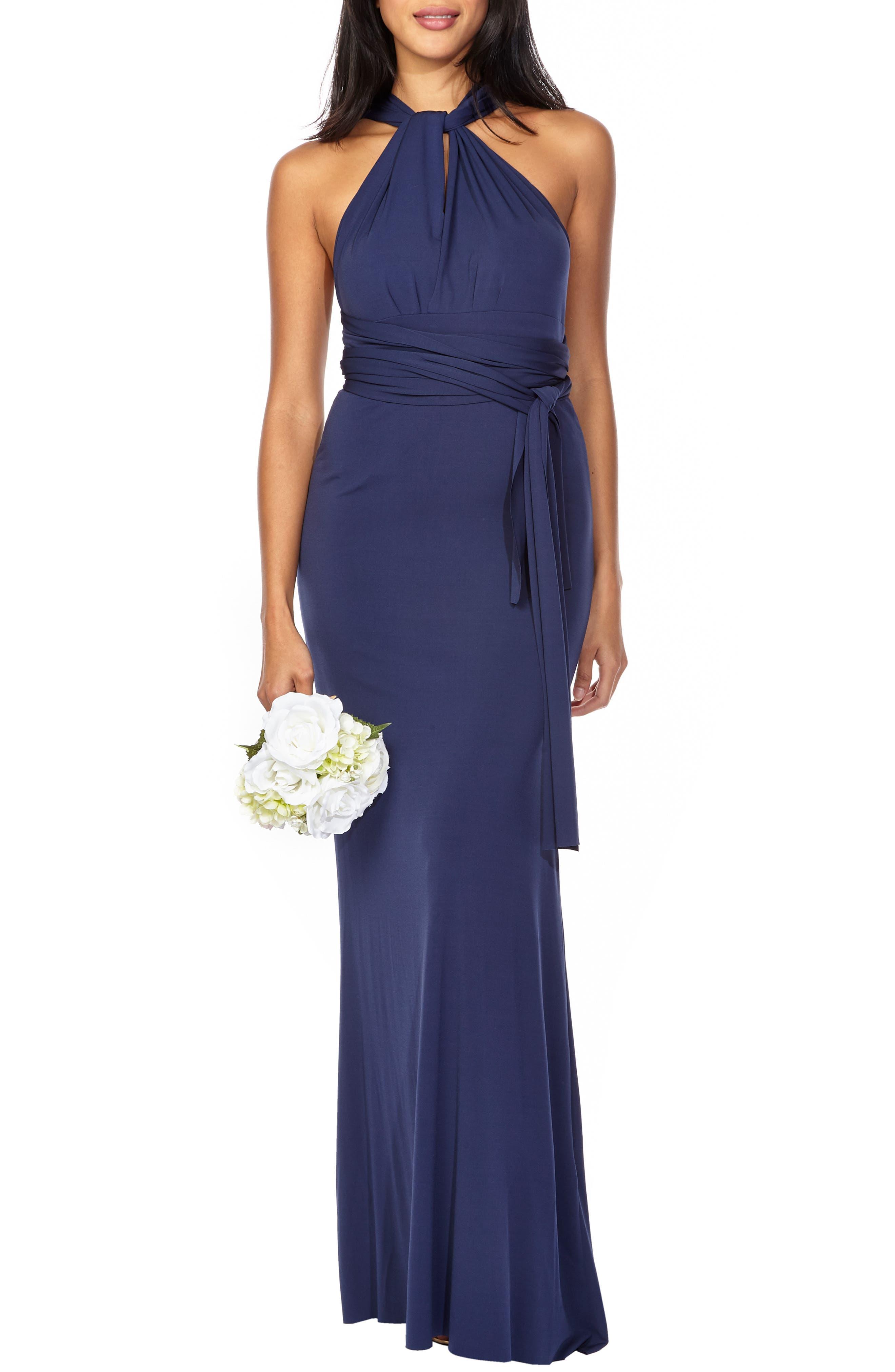 Tfnc Multiway Gown, Blue