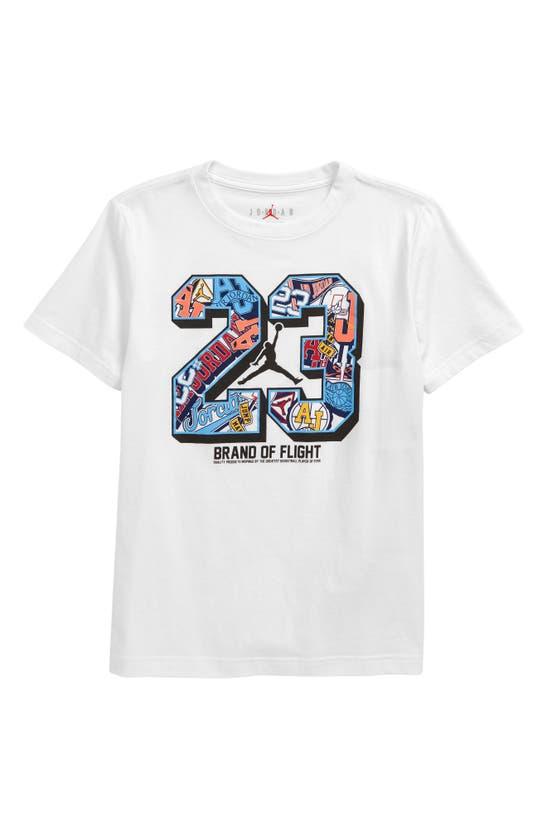 JORDAN Cottons KIDS' 23 SHORT SLEEVE GRAPHIC TEE