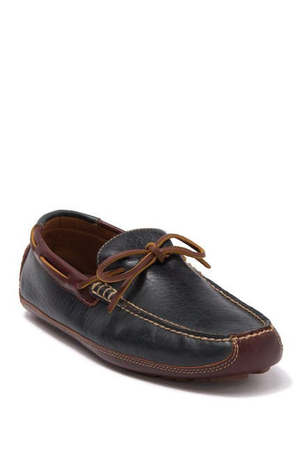 Image of Trask Dillon Tie Moc Toe Loafer