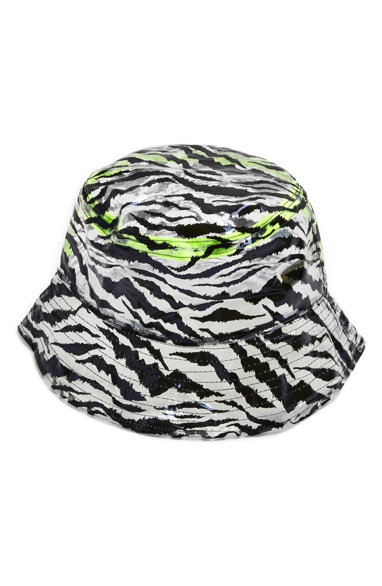 Topshop Zebra Bucket Hat