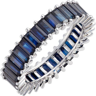 Dana Rebecca Designs Kristyn Kylie Blue Sapphire Eternity Ring