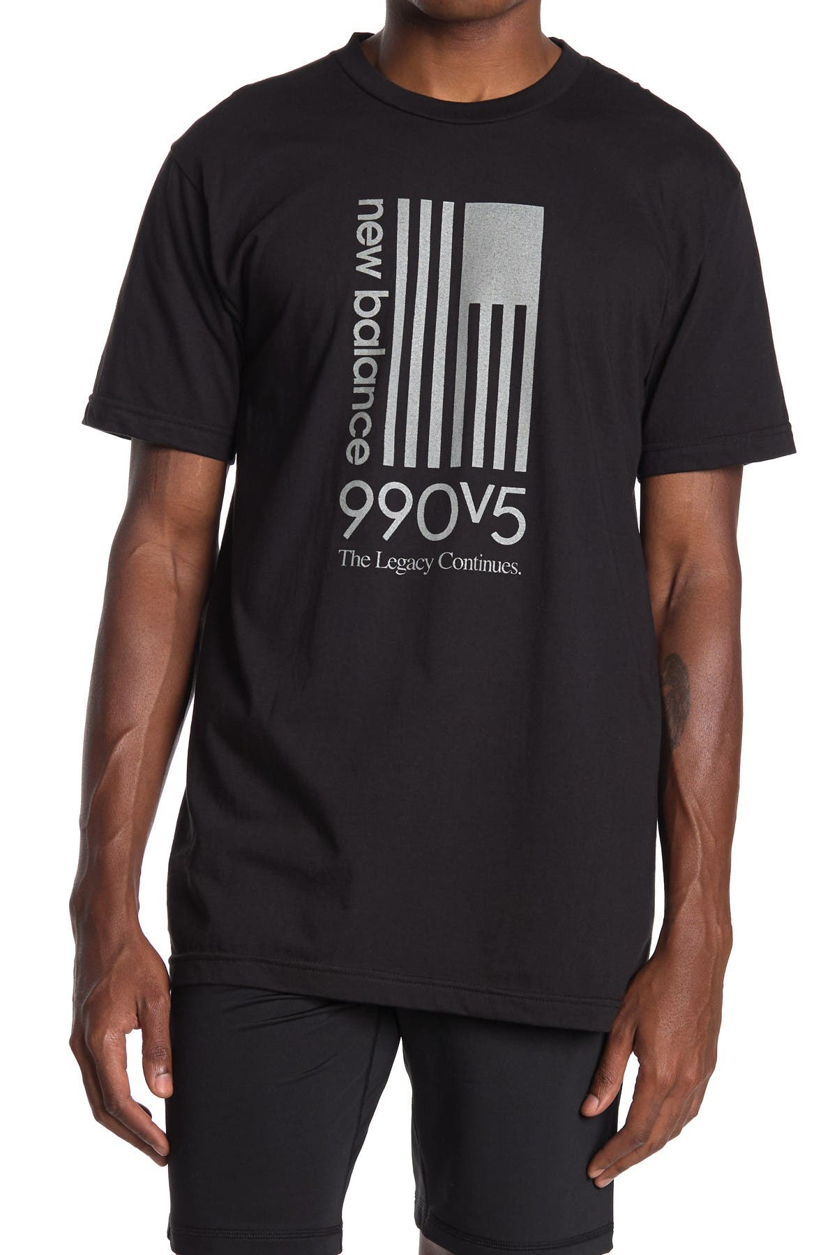Image of New Balance 990 V5 Flag T-Shirt