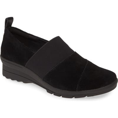 Taryn Rose Eliana Loafer- Black