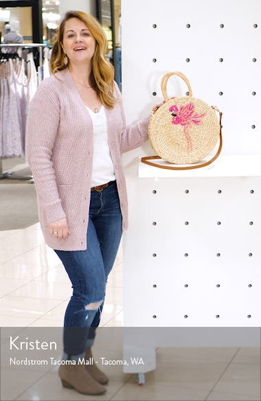 Flamingo Round Satchel, sales video thumbnail