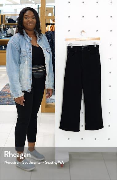 Milla Crop Wide Leg Jeans, sales video thumbnail