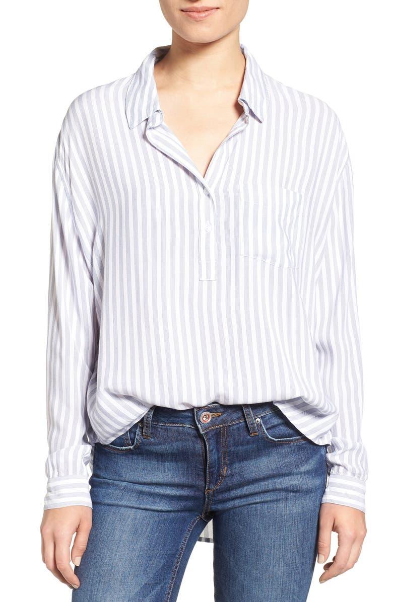 RAILS Elle Popover Shirt, Main, color, ADMIRAL STRIPE