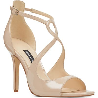 Nine West Giaa Strappy Sandal, Beige