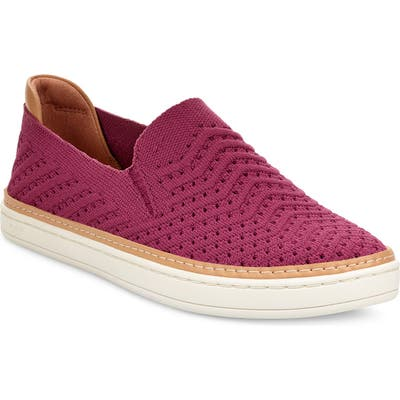Ugg Sammy Slip-On Sneaker, Burgundy