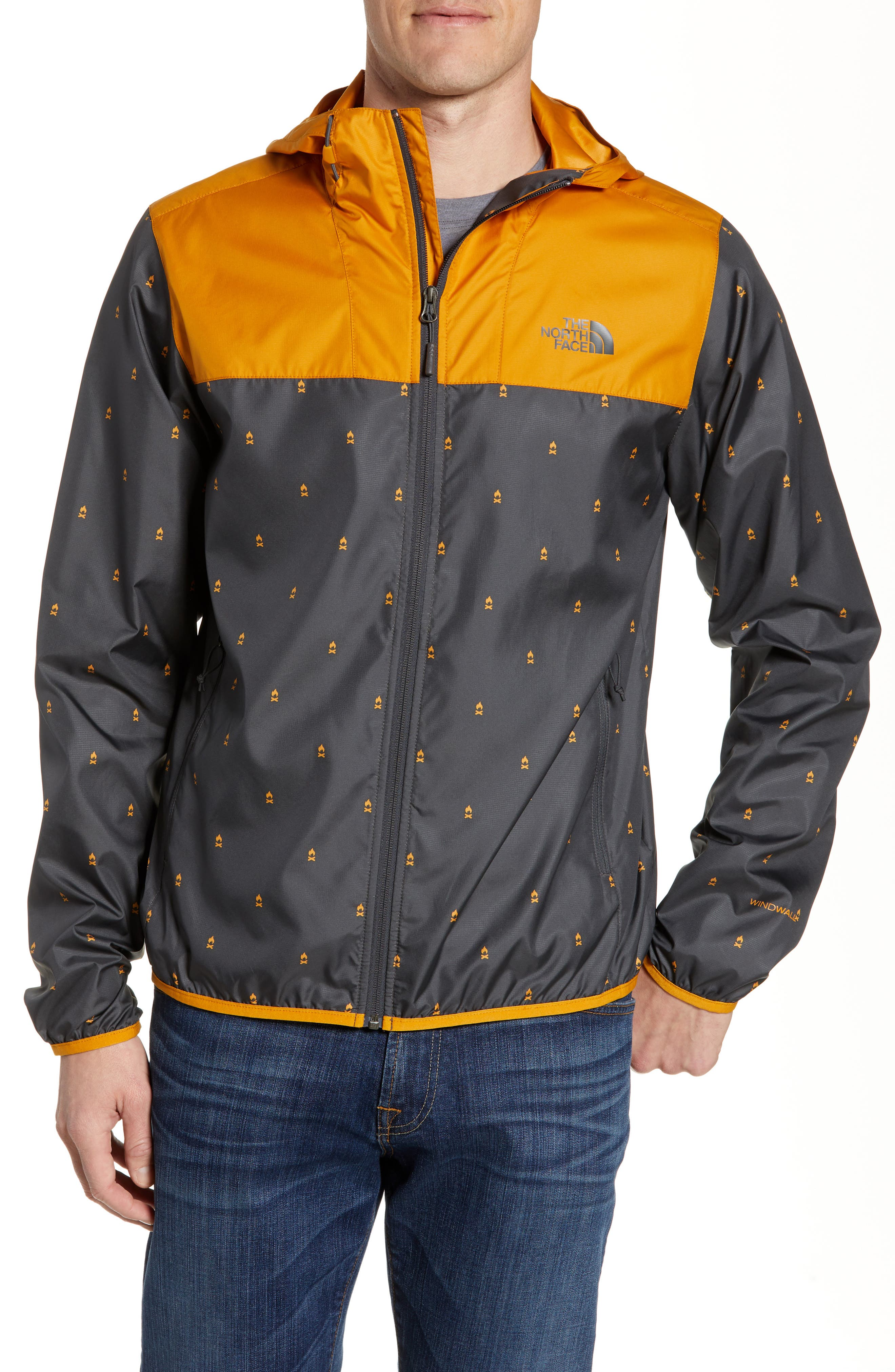 The North Face Cyclone Windwall Jacket, Yellow