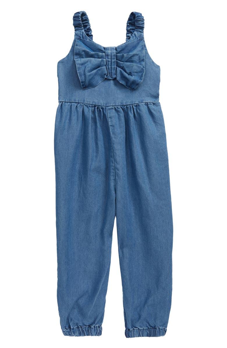 HABITUAL GIRL Habitual Front Twist Jumpsuit, Main, color, 425