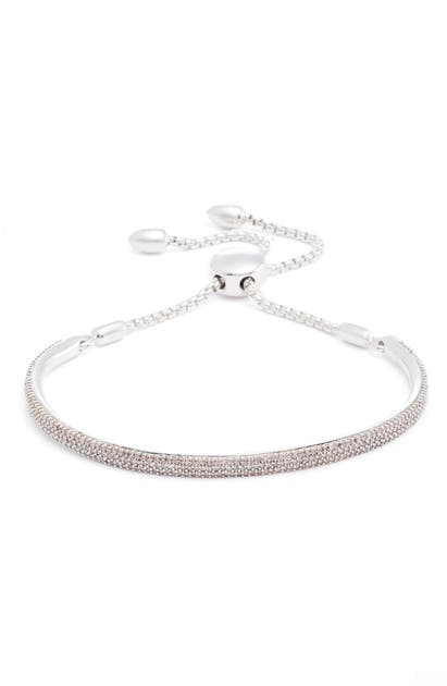 Monica Vinader Lingerie STELLAR PAVE DIAMOND MINI BAR BRACELET
