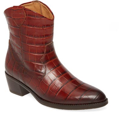 Gabor Western Boot- Brown