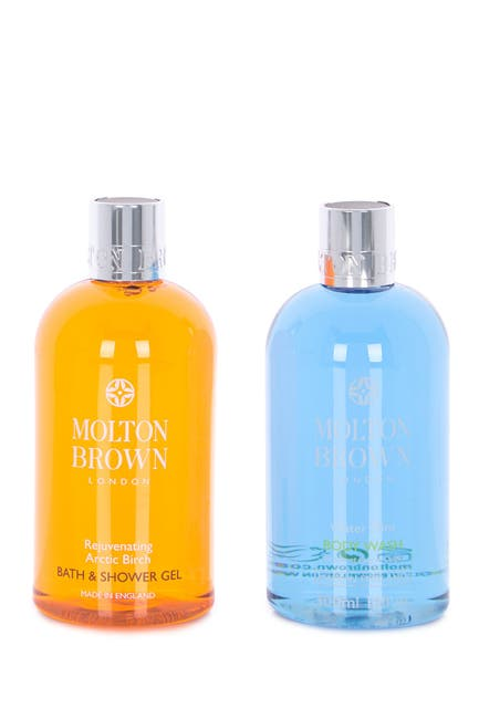 Image of Molton Brown Artic Birch Bath & Shower Gel Set