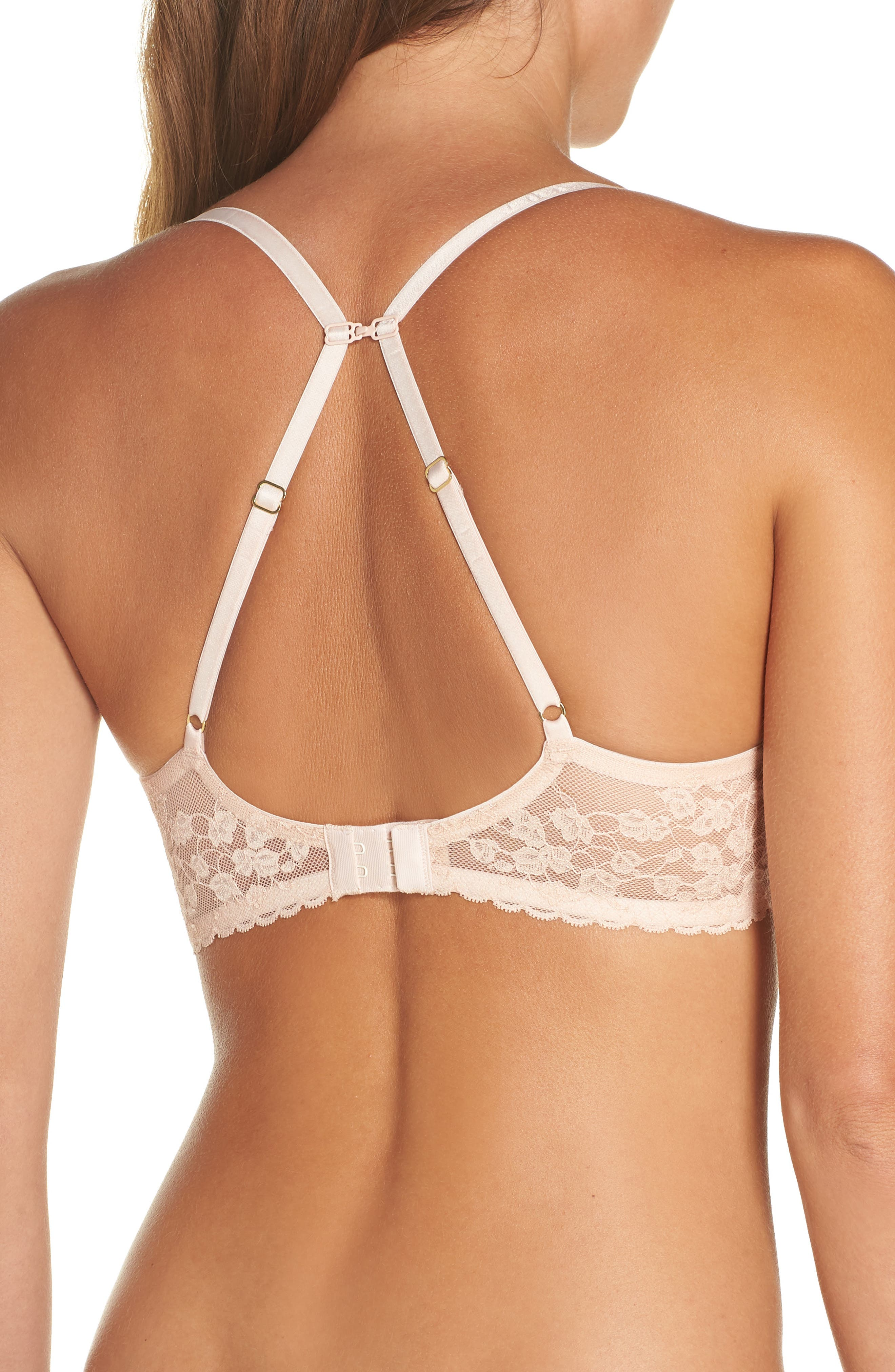 ,                             Cherry Blossom Convertible Underwire Bra,                             Alternate thumbnail 80, color,                             655