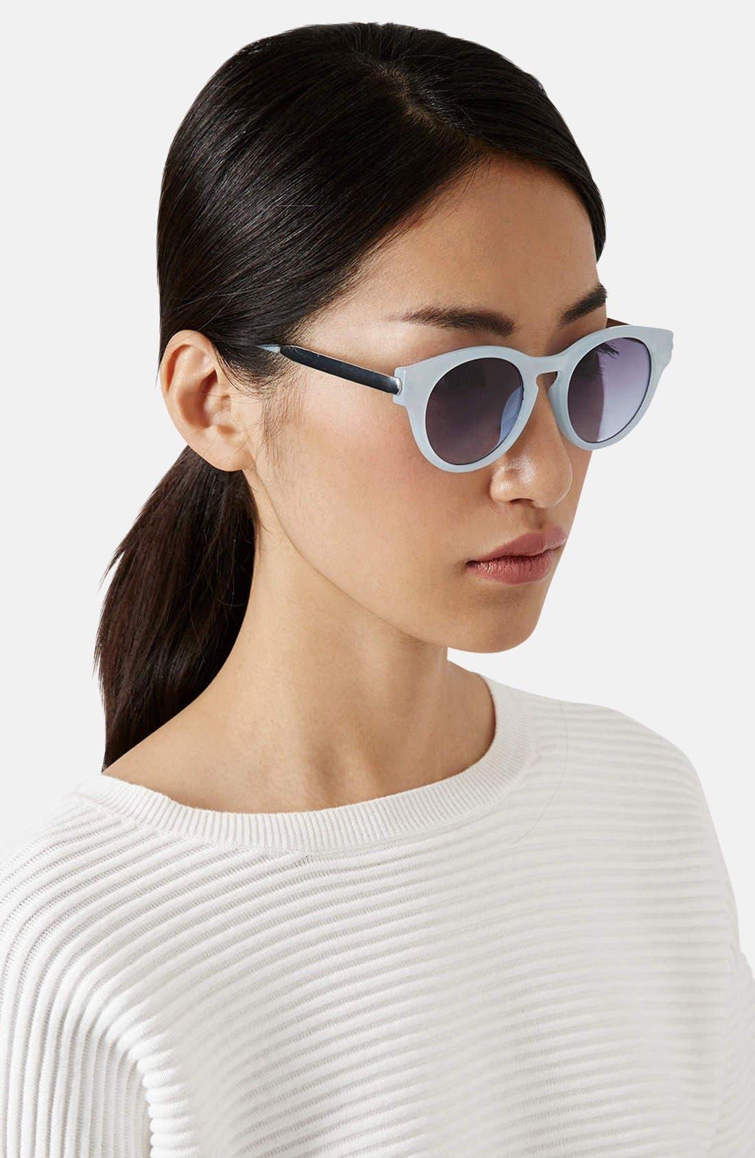 ,                             'Warren' 48mm Cat Eye Sunglasses,                             Alternate thumbnail 2, color,                             450