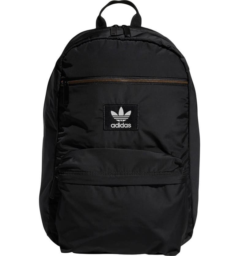 ADIDAS ORIGINALS National Plus Backpack, Main, color, BLACK