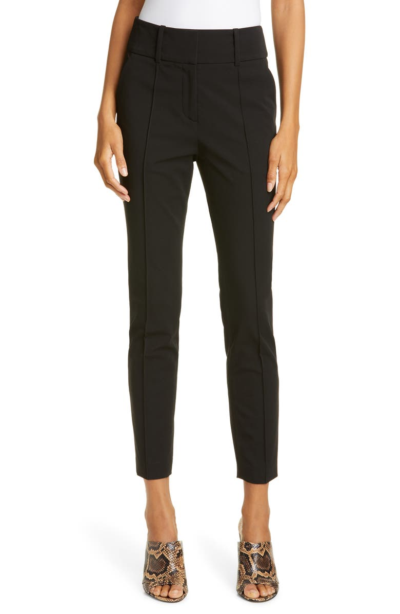 VERONICA BEARD Lago Trousers, Main, color, BLACK