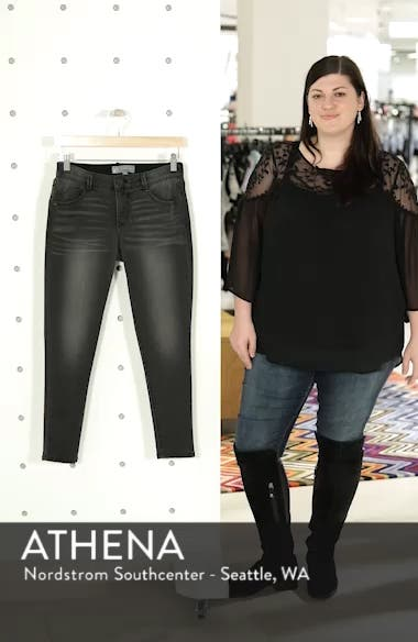Ab-Solution Ankle Skinny Stretch Jeans, sales video thumbnail