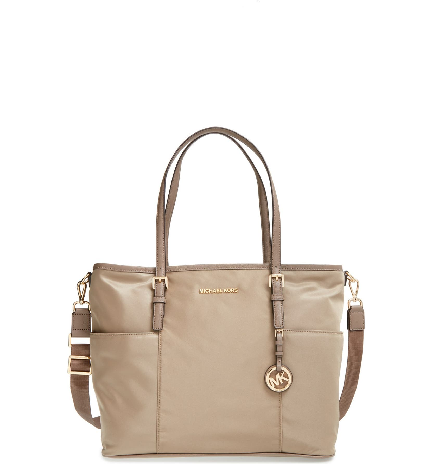 michael kors diaper bag jet set