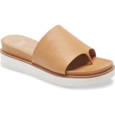 Eileen Fisher Touch Platform Sandal, Beige